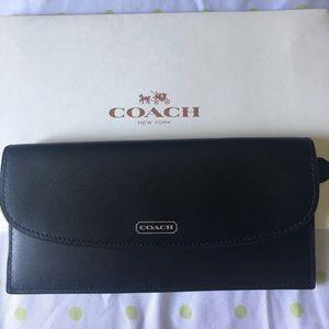 Coach Black Wallet